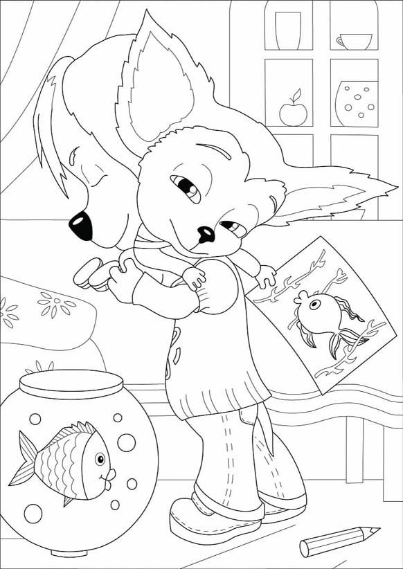 Раскраски Барбоскины для детей