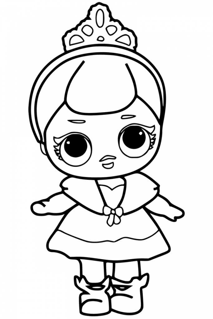 Игрушка-сюрприз 557067 Кукла с волосами 2 волна L. O. L