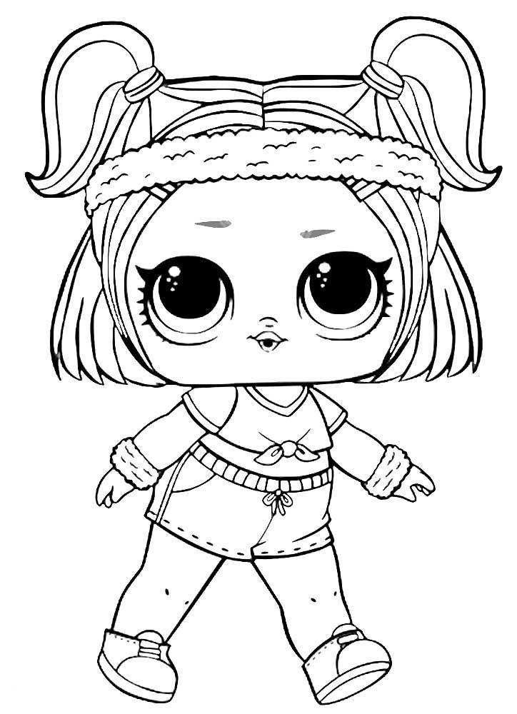 Мини-кукла сюрприз LOL Кукла с волосами, 2 серия