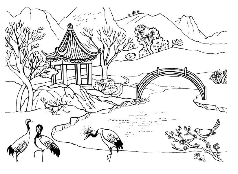 Картинки пейзаж природы для детей