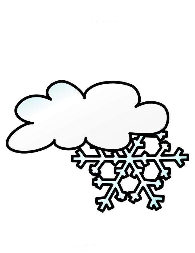 Раскраска погода распечатать