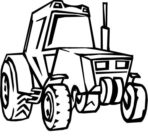 Раскраски для мальчиков тракторы онлайн
