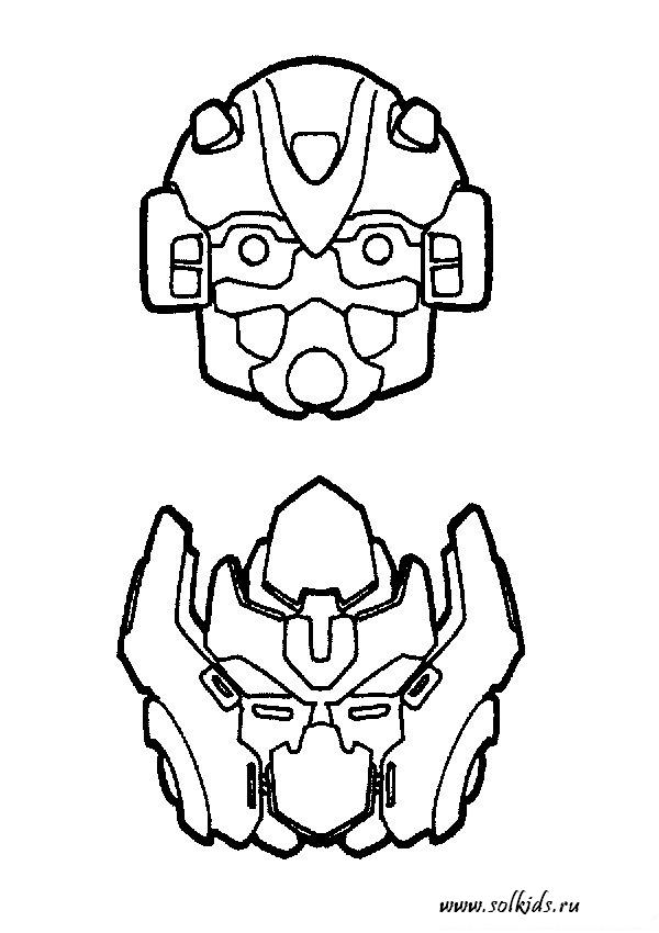 Раскраски Трансформеры автоботы