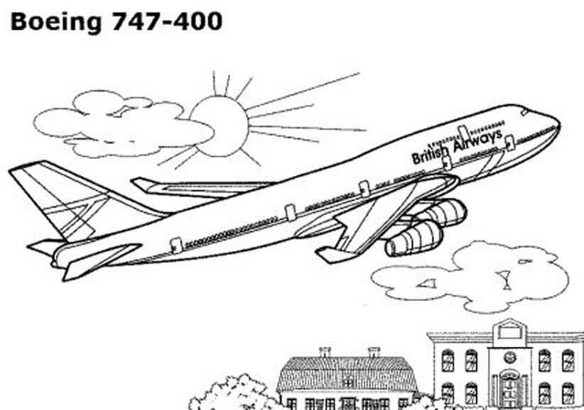 раскраска самолёт для мальчиков распечатать бесплатно или