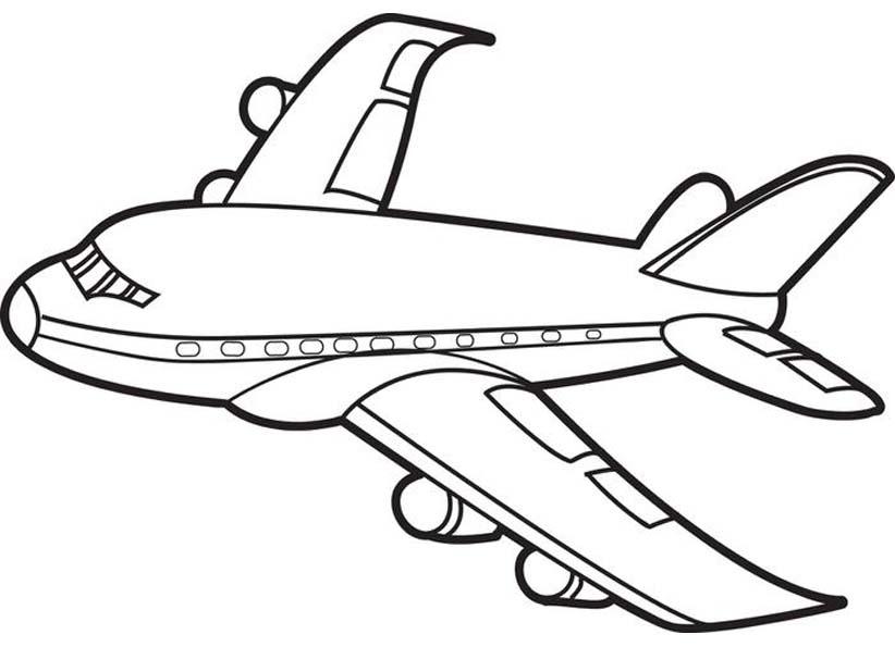 Раскраска Самолет